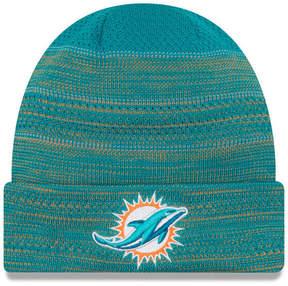 New Era Miami Dolphins Touchdown Cuff Knit Hat