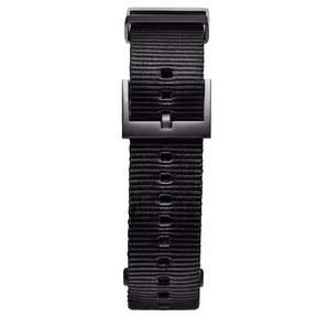 MVMT Mens Voyager Series 21mm Black Nylon