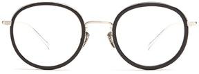 SAINT LAURENT Round-frame metal glasses