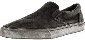 Vans Classic Slip-On + Overwash Paisley Black Low Top Canvas Skateboarding Shoe - 7.5M / 6M