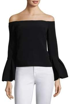 Alexis Tess Bell-Sleeve Blouse
