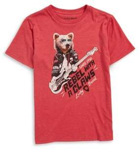 Lucky Brand Boy's Rebel with Claws Tee