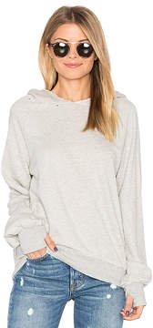 Pam & Gela Hollywood Hobo Hoodie in Gray. - size S (also in XS)