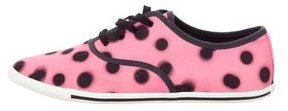 Marc by Marc Jacobs Canvas Polka Dot Sneakers