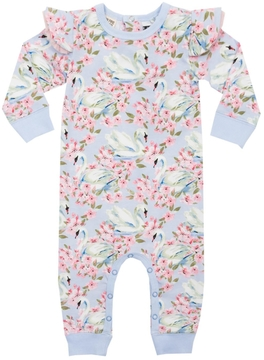 Rock Your Baby Fairytale Swans Playsuit