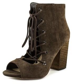 Fergie Riviera Open-toe Suede Ankle Boot.