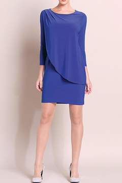 Clara Sunwoo Overlay Drape Dress