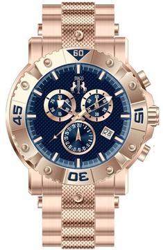 Jivago Titan JV9126 Men's Stainless Steel Analog Watch Chronograph