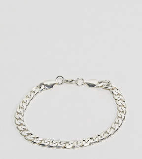 Reclaimed Vintage Inspired Curb Link Bracelet In Silver Exclusive To ASOS
