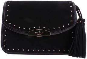 Kate Spade Black Kenway West Leather Crossbody Bag