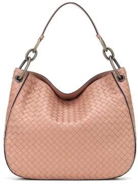 Bottega Veneta Loop intrecciato leather tote