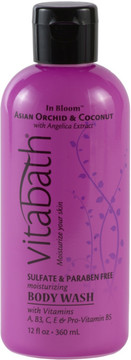 Vitabath Asian Orchid & Coconut Body Wash