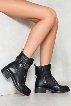 Nasty Gal nastygal Take the Lead Vegan Leather Boot
