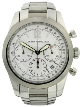 Girard Perregaux REF4956 Stainless Steel 40mm Watch
