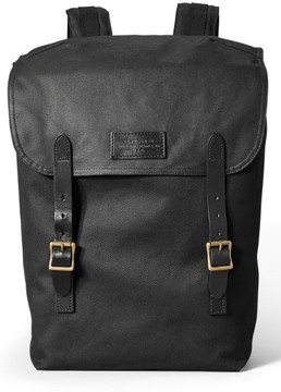 Filson Men's 'Ranger' Canvas Backpack - Black
