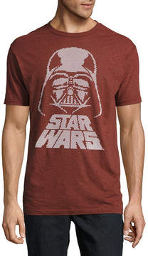 Star Wars Novelty T-Shirts Darth Vader Rubberized Texture Graphic Tee