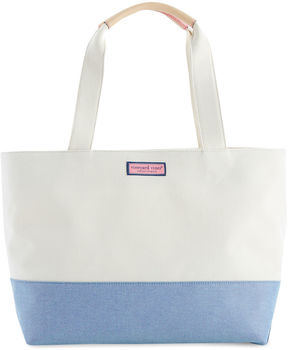 Vineyard Vines Blue Oxford Vineyard Tote