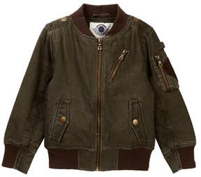 Urban Republic Canvas Aviator Flight Jacket (Little Boys)