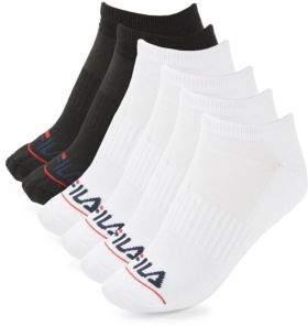 Fila Striped Arch Low-Cut Socks Set