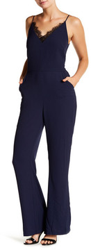 Adelyn Rae Woven Slip-Style Jumpsuit