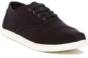 Toms Donova Black Canvas Sneaker