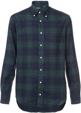 Gitman Brothers checked shirt