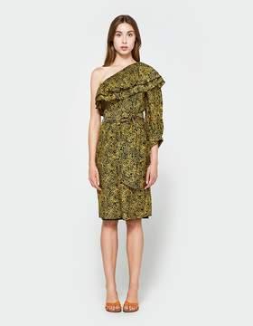 Apiece Apart Rock-Rose Bare Shoulder Dress