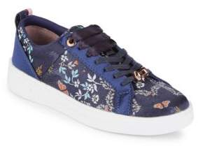 Ted Baker Sorcey Floral Textile Sneakers