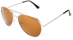 Tommy Hilfiger Rose Gold-Tone Tony Aviator Sunglasses
