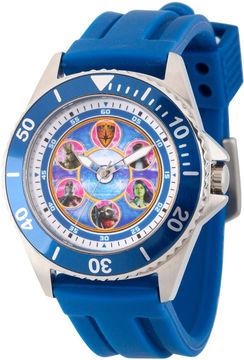 Marvel Guardian Of The Galaxy Mens Blue Strap Watch-Wma000120