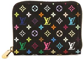 Louis Vuitton Black Multicolore Monogram Canvas Zippy Coin Purse - BLACK - STYLE
