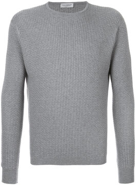 John Smedley ribbed knit jumper