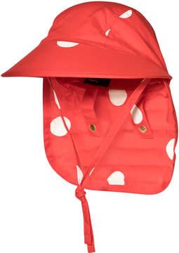 Mini Rodini Red Dots Sun Cap