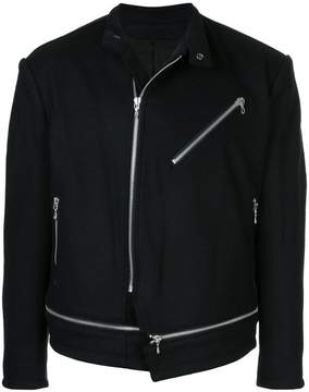 Julius zipped biker jacket