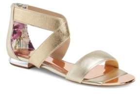 Ted Baker Laana Leather Flat Sandals