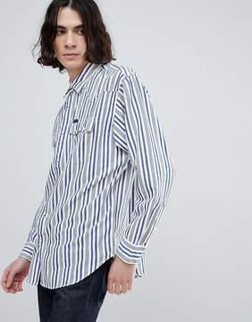 Lee Oversized Rider Stripe Shirt