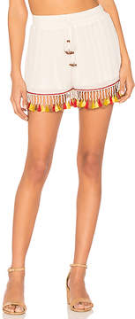 Band of Gypsies Tassel Trim Shorts