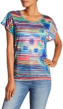 Desigual Anthea Striped Hi-Lo Shirt