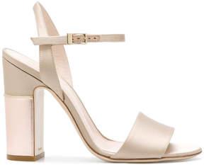 Pollini ankle strap sandals