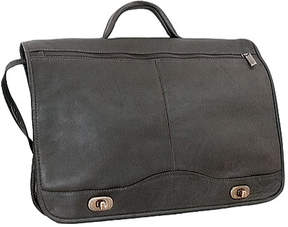 David King 177 Full Flap Over Briefcase