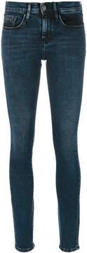 CK Calvin Klein mid rise skinny jeans