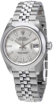 Rolex Lady-Datejust Silver Dial Automatic Ladies Jubilee Watch