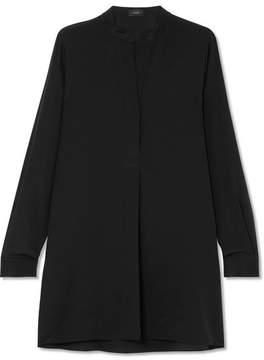 Joseph Lara Silk Crepe De Chine Shirt - Black