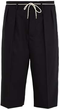 Maison Margiela Cropped-length wool trousers