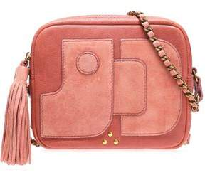 Jerome Dreyfuss Pascal Leather And Suede Shoulder Bag