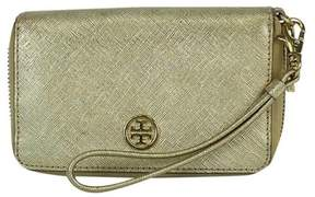 Tory Burch Gold Metallic Robinson Smartphone Wristlet - GOLD - STYLE