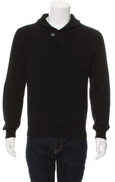 Louis Vuitton Monogram-Embroidered V-Neck Sweater