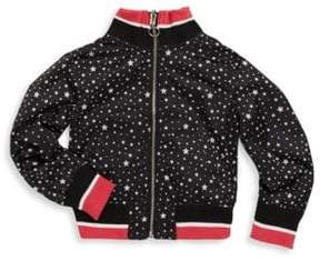 Urban Republic Little Girl's Printed Track Jacket