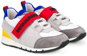DSQUARED2 color block sneakers
