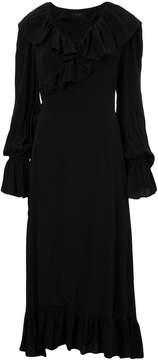 G.V.G.V. ruffled wrap dress
